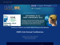 Isnrconference.org