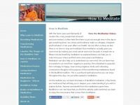 how-to-meditate.org Thumbnail