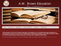 Awbrowneducationfoundation.org