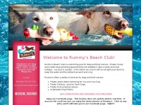 Warm Water Swimming For Dogs, Under Water Photography - Rummy's Beach Club - Spring, Tx