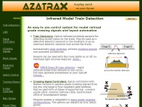 Azatrax.com - Model train detectors, crossing signal systems, railroad layout automation