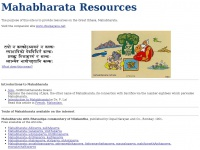 Mahabharata Resources
