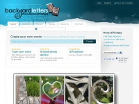 backyardletters.com