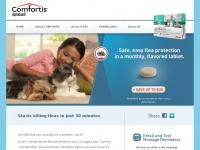 Comfortis® (spinosad) Flea Protection Chewable Tablet — Comfortis4Dogs.com