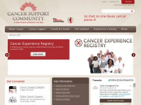cancersupportcommunity.org Thumbnail