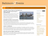 baltimoreevents.org Thumbnail