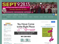 Home | Breast Cancer Coalition of Rochester, NY