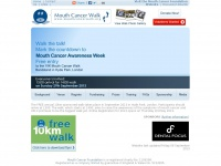 Mouthcancerwalk.org