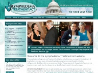 lymphedematreatmentact.org Thumbnail