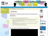 Home : 7th World Congress on Fluency Disorders (WCFD) 2012, France
