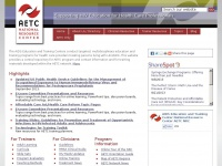 AIDS Education and Training Centers National Resource Center (AETC NRC) | Supporting HIV Education for Health Care Professionals