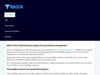 baccn.org.uk Thumbnail