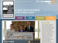 easttennesseefoundation.org Thumbnail