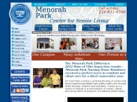 Menorah Park Center for Senior Living featuring one campus with many aging solutions helping one person at a time