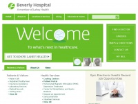 Boston Massachusetts Hospital & Medical Centers | Beverly Hospital