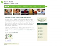 Nebhealth.org - Lahey Health Behavioral Services, Essex County, Mass. - outpatient counseling, addiction treatment, family services, mobile crisis teams, inpatient psychiatric care, plus home and school-based programs for children and teens