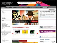 Ticketmaster.co.uk - Tickets for concerts, theatre, football, family days out. Official Ticketmaster Site