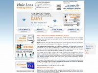 hairlosslearningcenter.org