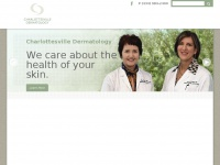 Charlottesville Dermatology | We care about the health of your skin.