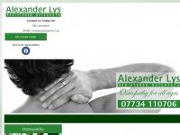 alexlysosteopathy.co.uk