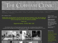 thecobhamclinic.co.uk Thumbnail