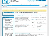 Dissolution.com - Dissolution Discussion Group Bulletin Board - Dissolution Discussion Group (DDG)
