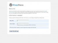 WordPress › Installation