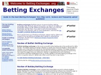 Betting Exchanges | How They Work | Review of Betfair & Betdaq Betting Exchange
