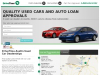 DriveTime Austin | Used Cars & Auto Financing For All Credit Types