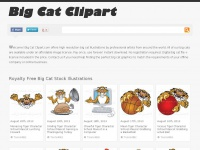 Royalty Free Big Cat Illustrations