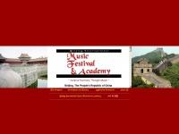 Beijing International Music Festival and Academy