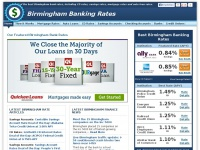 Birmingham Bank Rates – CD Rates, Savings Accounts, Interest Rates, Auto Loans & Mortgage at Birmingham, AL Banks & Credit Unions | Birmingham Banking Rates