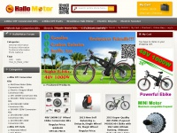 HalloMotor.com - Your Best Electric Bike Conversion Kit and motor developer supplier!