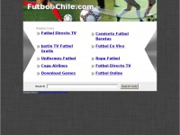 Futbol-Chile.com: The Leading Futbol Chile Site on the Net