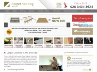 carpetcleaninghillend.co.uk Thumbnail