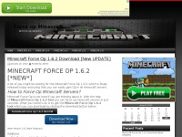 Forceopminecraft.com - Force op Minecraft