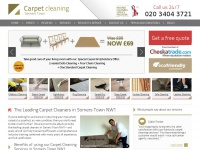 carpetcleaningsomerstown.co.uk Thumbnail
