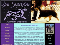 lossuenosaustralianshepherds.com