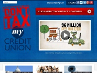 donttaxmycreditunion.org