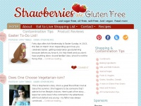 Gluten Free - Eat to Live - Style at Strawberries Are Gluten Free