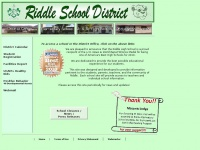 Riddle.k12.or.us - Riddle School District: Home Page