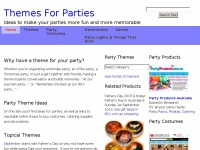 Themes for Parties – Make your next party one to remember