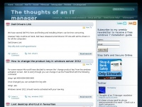 The thoughts of an IT manager - Email Bandwith and Support