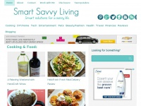 SmartSavvyLiving.com - Smart solutions for a savvy life: recipes, tips, and more.
