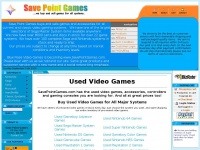 Used Video Games & Consoles | SavePointGames.com | Buy Video Games