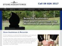 Stoneheadstones.co.nz