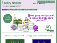Purelynaturalskin.co.uk