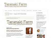 Taranaki Farm : Beyond Organic, Grass Fed & Pasture Raised