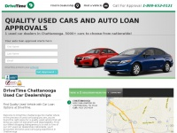 DriveTime Chattanooga | Used Cars & Auto Financing For All Credit Types