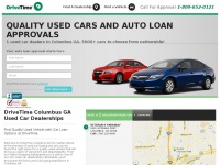 DriveTime Columbus GA | Used Cars & Auto Financing For All Credit Types